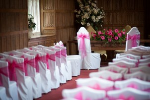 Ceremony in the Queen's Gallery at Gosfield Hall
