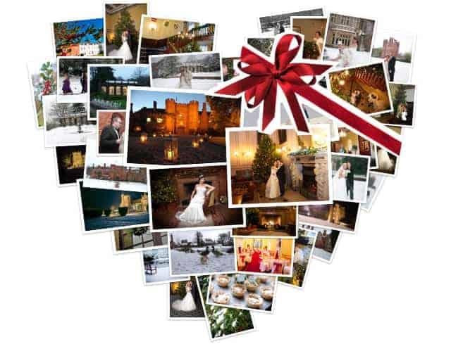 Leez Priory Wedding - Christmas Made Easy