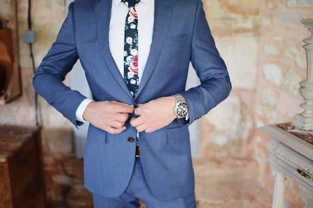 A grooms suit