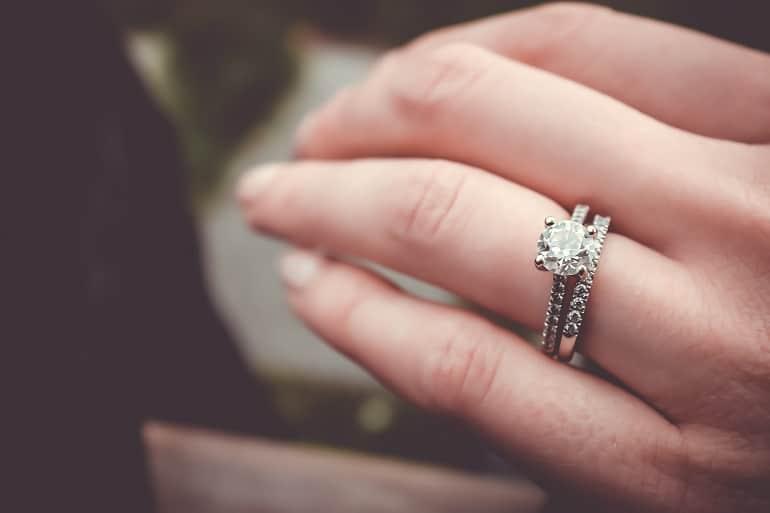 Wearing wedding ring